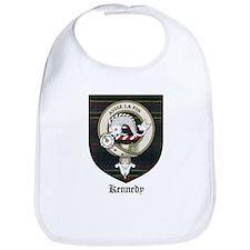 Kennedy Clan Crest Tartan Bib