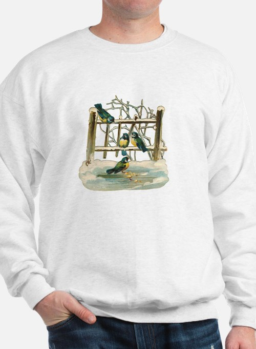 Vintage Birds Sweatshirt