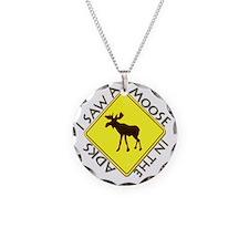 Adirondacks Moose Necklace