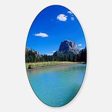 Kayaking on upper Green River Lake  Decal