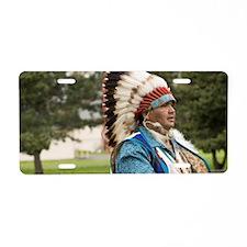 The Nez Perce Indian Tribe  Aluminum License Plate