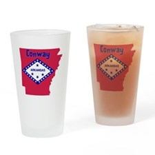 Conway Arkansas Drinking Glass