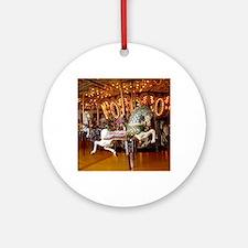 carousel Round Ornament