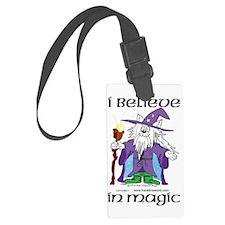 I Believe In Magic Three Times Luggage Tag