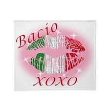 bacio Throw Blanket