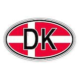 Denmark Bumper Stickers
