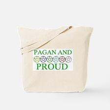 Pagan and Proud Tote Bag