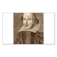 Shakespearehead Rectangle Decal