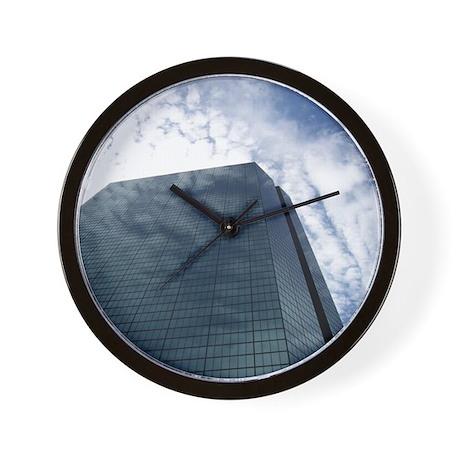 """A Blue Illusion"" Wall Clock"