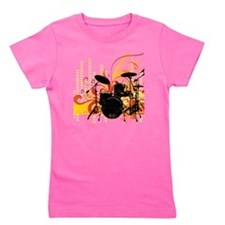 drums Girl's Tee