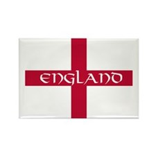 PC English Flag - England V Rectangle Magnet