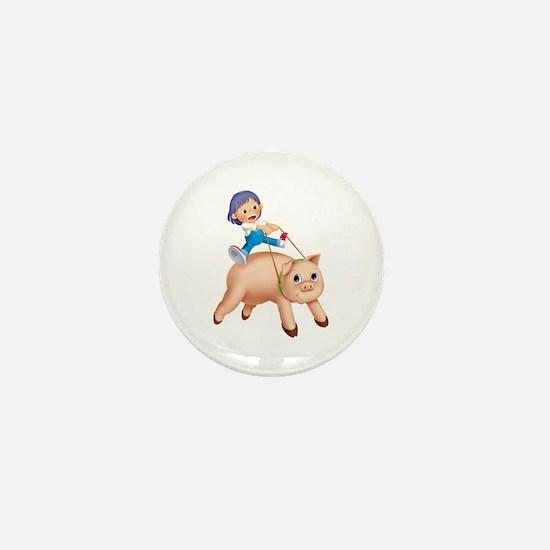Piggyback Mini Button