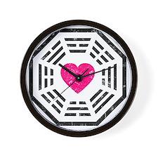 Dharma Love White Wall Clock