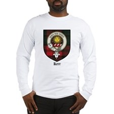 Kerr Clan Crest Tartan Long Sleeve T-Shirt