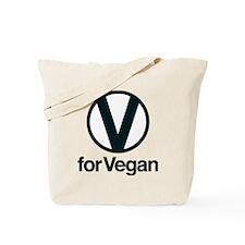 VforVeganGraphic2 Tote Bag