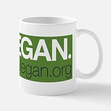 GoVeganBumperSticker2 Mug
