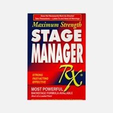 Stage Manager RX Rectangle Magnet