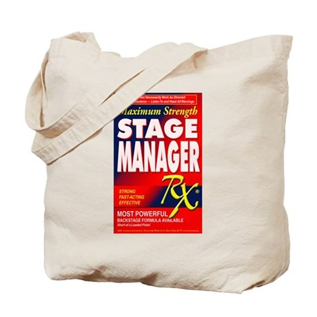 Stage Manager RX Tote Bag