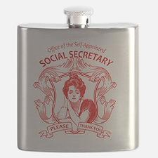 social secretary badge copy Flask
