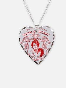 social secretary badge copy Necklace