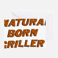 Natural Born Griller Dexter Greeting Card