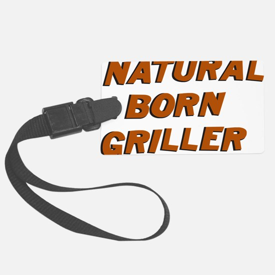 Natural Born Griller Dexter Luggage Tag