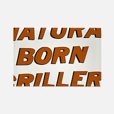Natural Born Griller Dexter Rectangle Magnet
