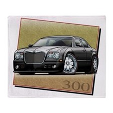 Black_300_DUB Throw Blanket