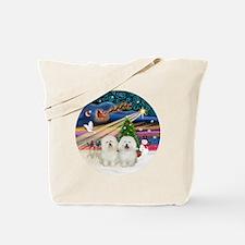 Xmas Magic - Bolognese (two) Tote Bag
