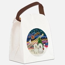 Xmas Magic - Bolognese (two) Canvas Lunch Bag
