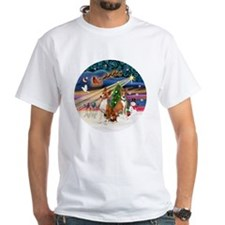 Xmas Magic - Basenjis (two) Shirt