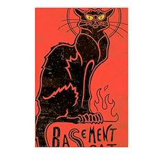 basement_cat_mini Postcards (Package of 8)