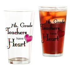 Teachers Have Heart 7 Drinking Glass