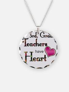 Teachers Have Heart 3 Necklace