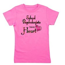 Teachers Have Heart psycho Girl's Tee