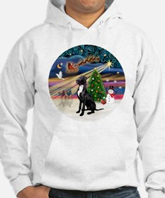 Xmas Magic - Great Dane (black-n Hoodie