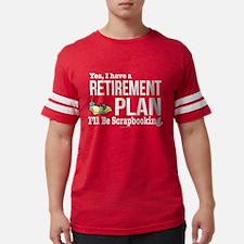Scrapbooking Retirement Plan T-Shirt