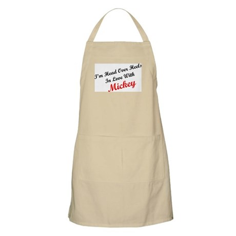 In Love with Mickey BBQ Apron