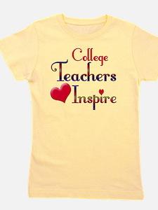 Teachers Inspire College  Girl's Tee