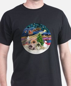 Xmas Magic - Pekingese (Three) T-Shirt