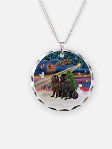 Xmas Magic - Newfoundland (T Necklace