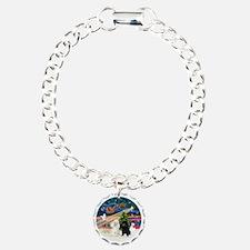 Xmas Magic - Poodles (TW Bracelet
