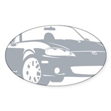 2-NB silver Bumper Stickers
