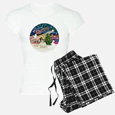 Xmas Magic - Shih Tzu Puppy Pajamas