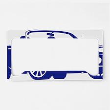 NC blue License Plate Holder