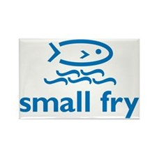 small fry 7x7 Rectangle Magnet