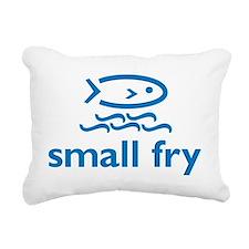 small fry 7x7 Rectangular Canvas Pillow