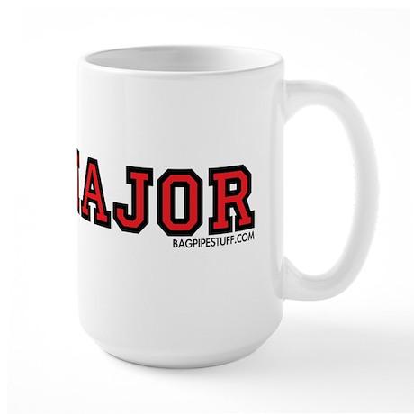 Pipemajor Large Mug