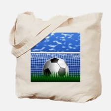 Soccer Goal and success Tote Bag