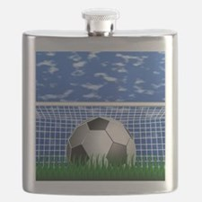 Soccer Goal and success Flask